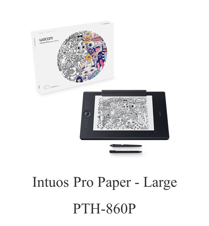 Wacom Intuos Pro Paper - Medium PTH-660P Tablet