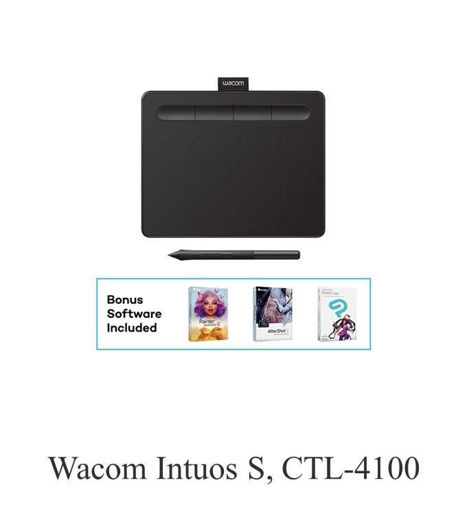 Wacom Intuos S, Black CTL-4100 Pen Tablet